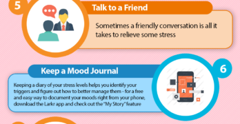 10 Simple Ways to Reduce Stress (Infographic)